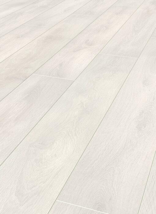 LA02 - ter Hürne Oak Pearl White Laminate Plank