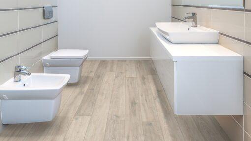 LA06 - ter Hürne Oak Moon Grey Laminate Long Plank - Bathroom