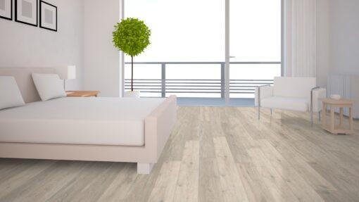 LA06 - ter Hürne Oak Moon Grey Laminate Long Plank - Bedroom