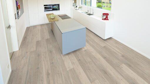 LA06 - ter Hürne Oak Moon Grey Laminate Long Plank - Kitchen
