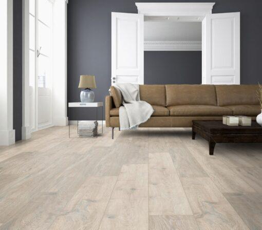 LA06 - ter Hürne Oak Moon Grey Laminate Long Plank - Living Room