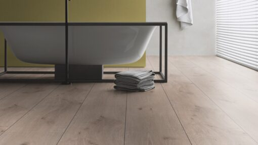 LA08 - ter Hürne Oak Ashford Grey Brown Laminate Extra-Wide Plank - Bathroom