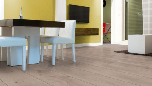 LA08 - ter Hürne Oak Ashford Grey Brown Laminate Extra-Wide Plank - Kitchen