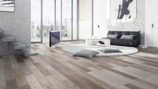 LA11 - ter Hürne Old Wood Vario Laminate Plank - Living Room
