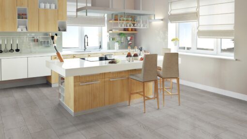 LA12 - ter Hürne Pine Light Grey Laminate Tile - Kitchen