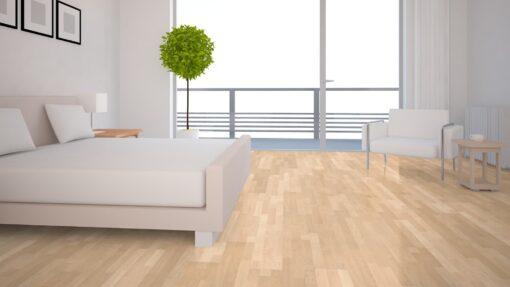 LB01a - ter Hürne Maple Sand Beige Laminate 3-Strip - Bedroom