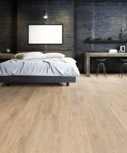 LB02 - ter Hürne Oak Pastel Beige Laminate Long Plank - Bedroom