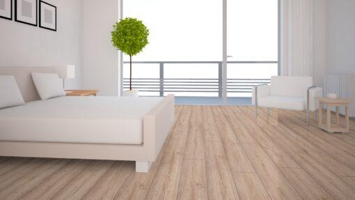 LB03 - ter Hürne Oak Nordic Brown Laminate Long Plank - Bedroom