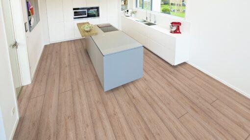 LB03 - ter Hürne Oak Nordic Brown Laminate Long Plank - Kitchen