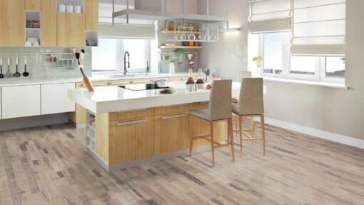 LB04 - ter Hürne Old Wood Mix Beige Laminate Multi Strip - Kitchen