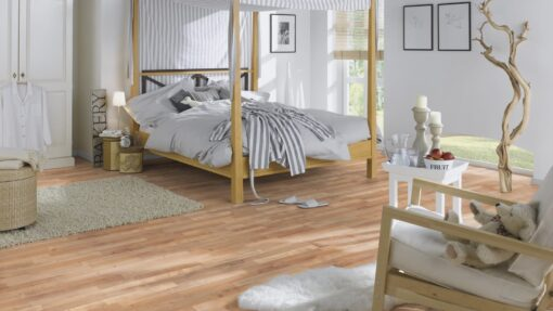LB06a - ter Hürne Oak Sierra Brown Laminate 3-Strip - Bedroom