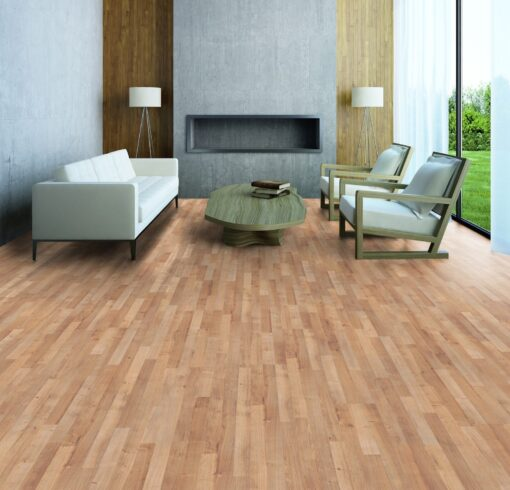 LB06a - ter Hürne Oak Sierra Brown Laminate 3-Strip - Living Room