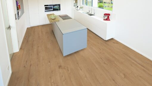 LB07 - ter Hürne Oak Gold Brown Laminate Plank - Kitchen