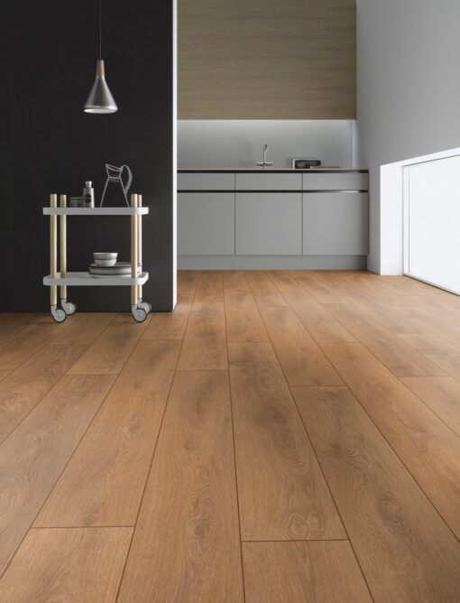 LB08 - ter Hürne Oak October Brown Laminate Plank = Kitchen