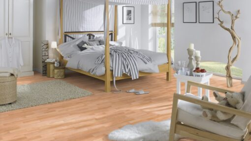 LB08a - ter Hürne Beech Rosé Beige Laminate 3-Strip - Bedroom