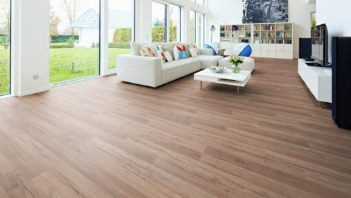 LB10 - ter Hürne Oak Siena Brown Laminate 2-Strip - Living Room