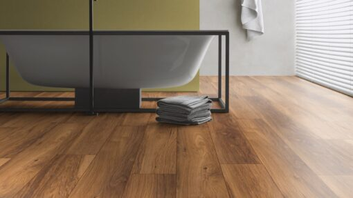 LB11 - ter Hürne Chestnut Sepia Brown Laminate Long Plank - Bathroom