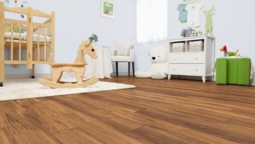 LB11 - ter Hürne Chestnut Sepia Brown Laminate Long Plank - Bedroom