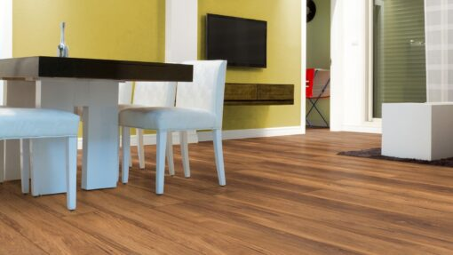 LB11 - ter Hürne Chestnut Sepia Brown Laminate Long Plank - Kitchen
