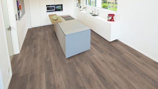 LD02 - ter Hürne Oak Grey Beige Laminate Plank - Kitchen