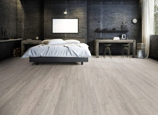 LD03 - ter Hürne Oak Graphite Grey Laminate Long Plank - Bathroom