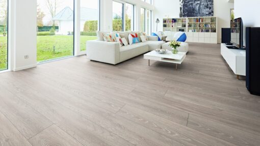 LD03 - ter Hürne Oak Graphite Grey Laminate Long Plank - Living Room