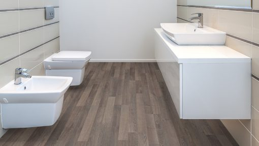 LD05 - ter Hürne Oak Light Brown Laminate 2-Strip - Bathroom