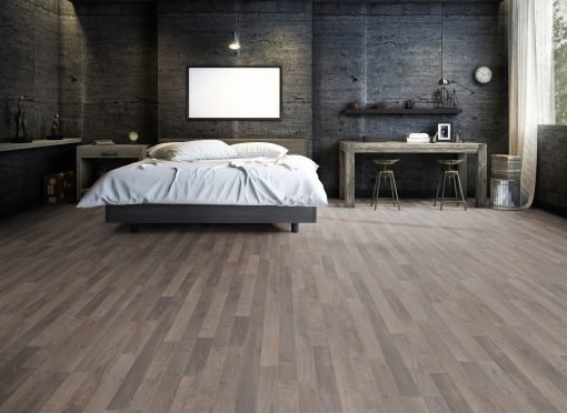 LD05 - ter Hürne Oak Light Brown Laminate 2-Strip - Bedroom