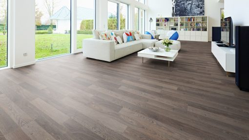 LD05 - ter Hürne Oak Light Brown Laminate 2-Strip - Living Room