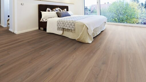 LD07 - ter Hürne Oak Reed Brown Laminate Long Plank - Bedroom