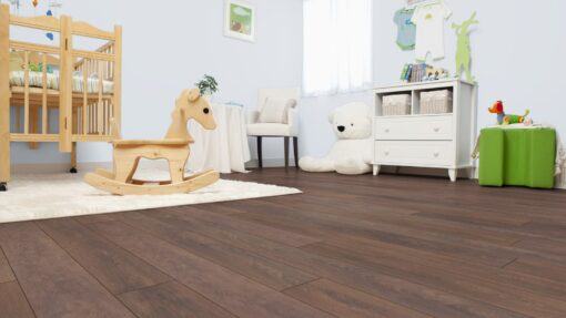 LD08 - ter Hürne Oak Coffee Brown Laminate Long Plank - Bedroom