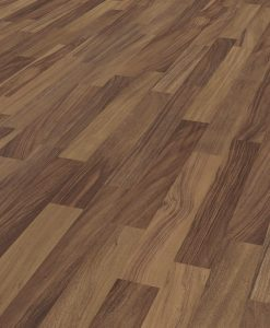 LD08a - ter Hürne Walnut Contrast Brown Laminate 3-Strip
