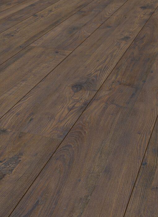 LD10 - ter Hürne Chestnut Chocolate Brown Laminate Long Plank