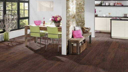 LD10 - ter Hürne Chestnut Chocolate Brown Laminate Long Plank - Kitchen