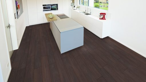 LD12 - ter Hürne Oak Deep Brown Laminate Plank - Kitchen