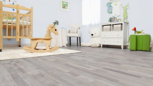 LE02 - ter Hürne Oak-Mix Contrast Beige Laminate Multi Strip - Bedroom