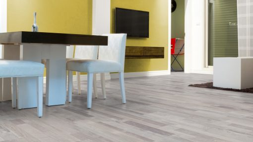 LE02 - ter Hürne Oak-Mix Contrast Beige Laminate Multi Strip - Kitchen