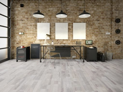 LE02 - ter Hürne Oak-Mix Contrast Beige Laminate Multi Strip - Living Room