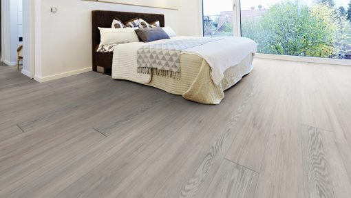LE03 - ter Hürne Oak Rock Grey Laminate Long Plank - Bedroom
