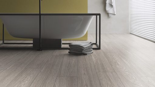 LE06 - ter Hürne Oak Slate Grey Laminate Long Plank - Bathroom