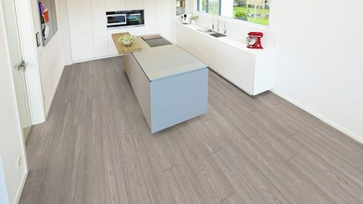 LE06 - ter Hürne Oak Slate Grey Laminate Long Plank - Kitchen