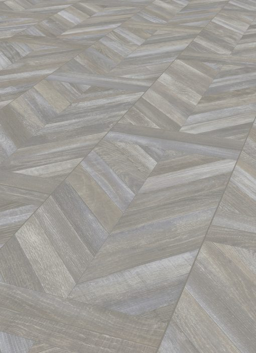 LE08 - ter Hürne Oak Antique Grey Brown Laminate Herringbone