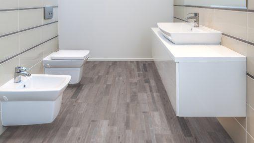 LE10 - ter Hürne Oak-Mix Contrast Grey Laminate Multi Strip - Bathroom