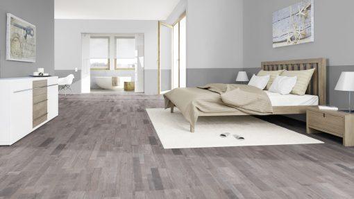 LE10 - ter Hürne Oak-Mix Contrast Grey Laminate Multi Strip - Bedroom