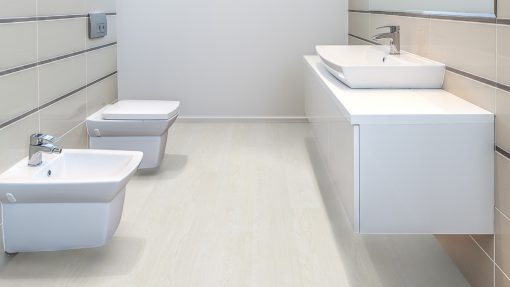 LT01 - ter Hürne Oak Atelier Laminate Wide Plank - Bathroom
