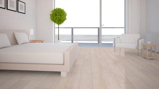 LT02 - ter Hürne Oak Tea House Laminate Wide Plank - Bedroom
