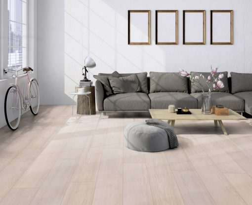 LT02 - ter Hürne Oak Tea House Laminate Wide Plank - Living Room