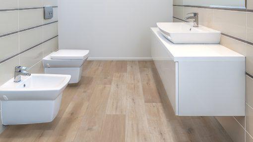 LT07 - ter Hürne Oak Barber Shop Laminate Wide Plank - Bathroom