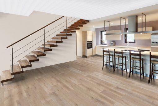 LT07 - ter Hürne Oak Barber Shop Laminate Wide Plank - Kitchen