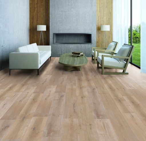 LT07 - ter Hürne Oak Barber Shop Laminate Wide Plank - Living Room